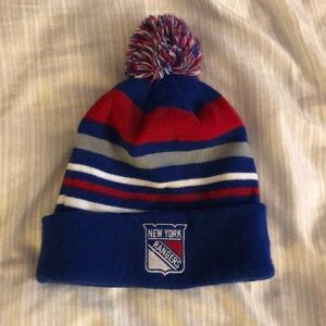 New York rangers winter hat